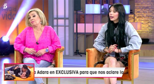 Carmen Borrego y Alejandra Rubio en 'Viva la vida' hablando de la ruptura con su novio/Mediaset