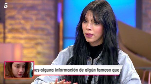 Alejandra Rubio en 'Viva la vida' hablando de la ruptura con su novio/Mediaset