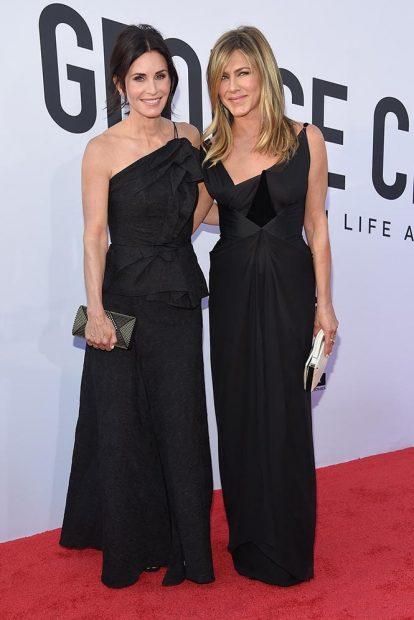 Courteney Cox y Jennifer Aniston