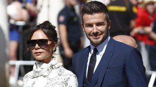 David Beckham y Victoria Beckham en la boda de Sergio Ramos y Pilar Rubio el pasado mes de junio / Gtres