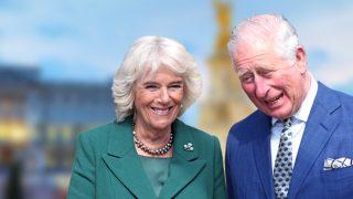 Carlos de Inglaterra y Camilla Parker en un fotomontaje de Look / Gtres