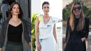 Sofía Palazuelo, Sassa de Osma e Inés de Cominges en un montaje de Look