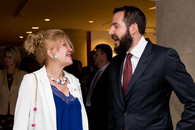 Carmen Cervera, Borja THyssen
