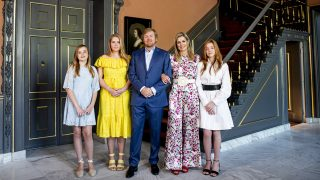 Máxima de Holanda con sus hijas / Gtres