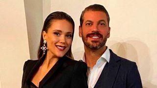 Lorena Gómez y René Ramos en una imagen de Instagram / Instagram