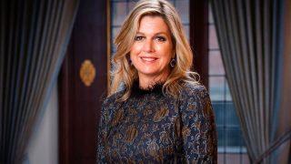 Máxima de Holanda, en su último retrato oficial /@koninklijkhuis