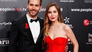 Natalia Sánchez y Marc Clotet han sido padres de un niño / GTRES