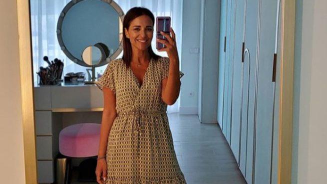 Este es el vestido rebajado de Paula Echevarría que querrás lucir en cualquier terraza