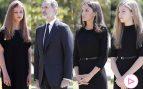 Leonor y Sofía se unen a los Reyes en un minuto de silencio por las víctimas del coronavirus
