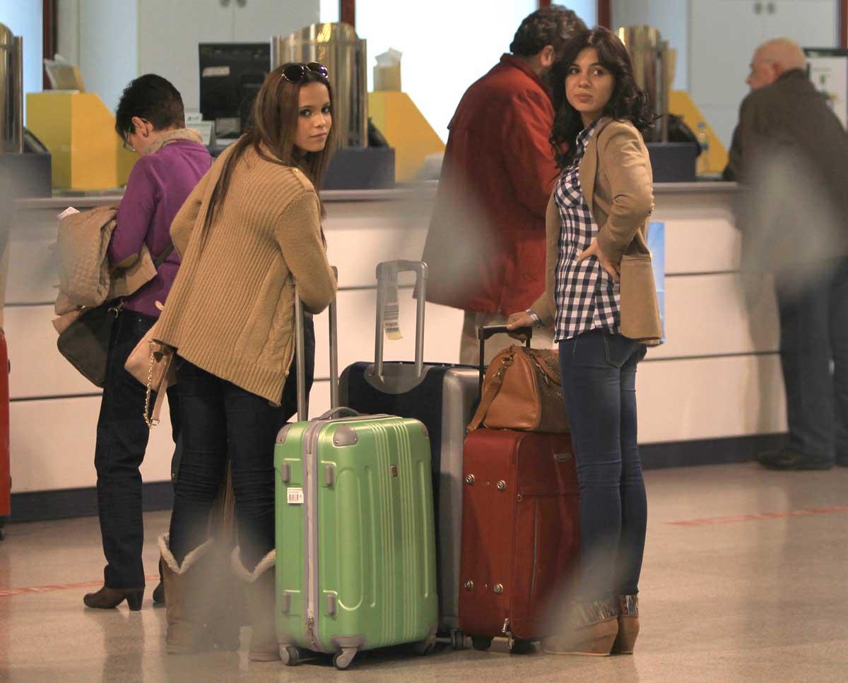 Gloria Camila y Gema Aldón, protagonistas colaterales de 'Supervivientes' / GTRES