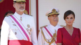 Los Reyes el pasado año en el Día de las Fuerzas Armadas / Gtres