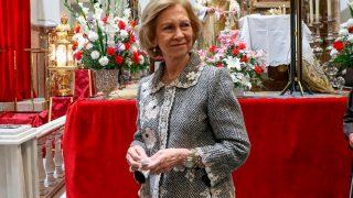 Su visita al cristo de Medinacelli el pasado 6 de marzo fue la última vez que se dejó ver. Después vendría el duro confinamiento que ha respetado con todo tipo de precauciones