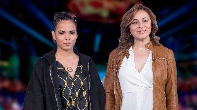 Ana María Aldón y Gloria Camila