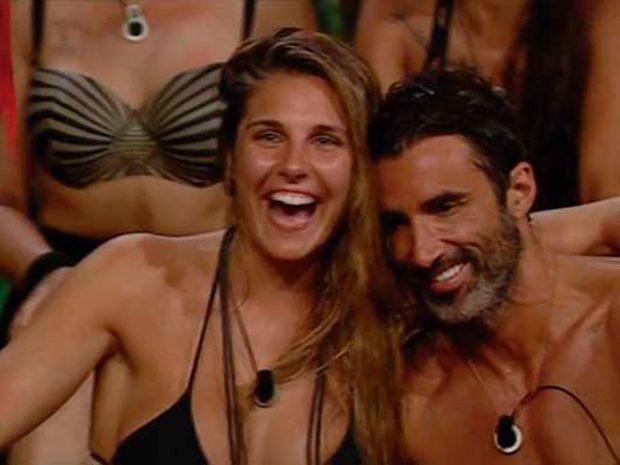Ivana Icardi y Hugo Sierra