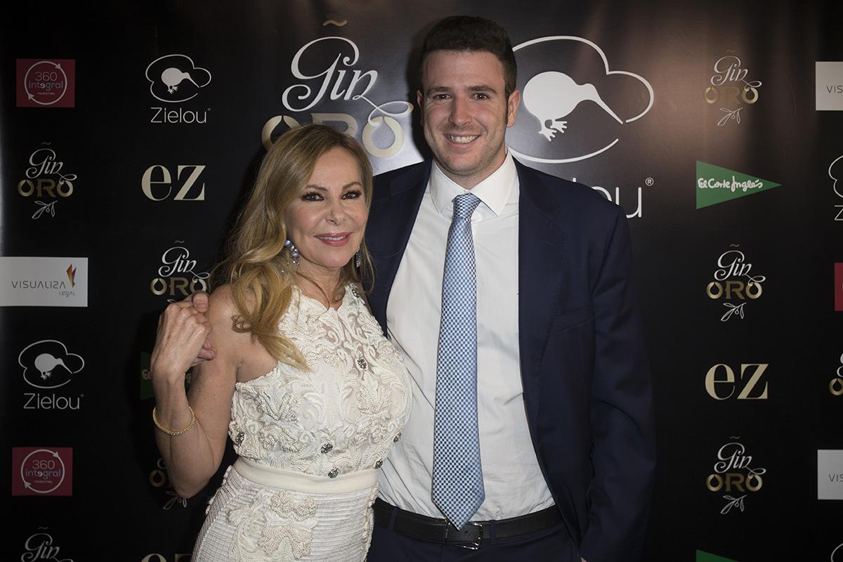Ana Obregón y Álex Lequio