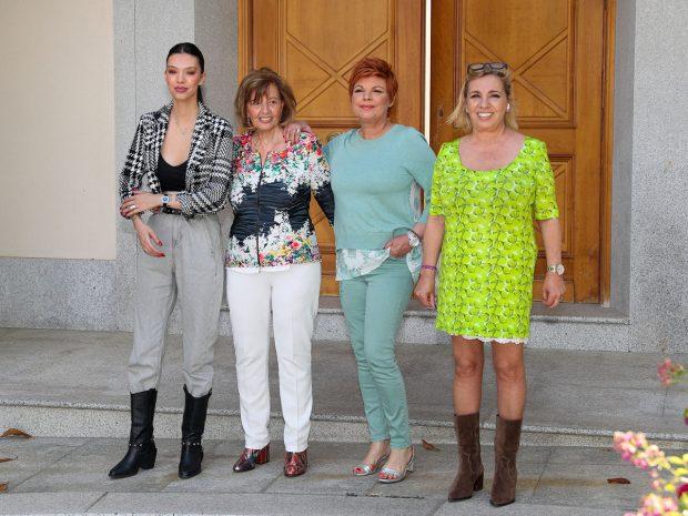 María Teresa Campos, Terelu Campos, Carmen Borrego y Alejandra Rubio