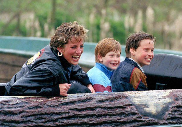 Guillermo de Inglaterra Diana de gales