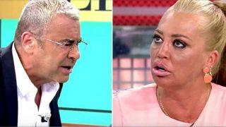 Jorge Javier Vázquez y Belén Esteban protagonizaron  un tremendo enfrentamiento en plató/ Telecinco