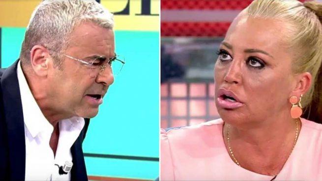 Jorge Javier Vázquez y Belén Esteban han protagonizado un tremendo enfrentamiento en plató/ Telecinco