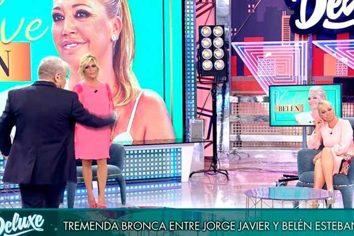 Jorge Javier Vázquez decidió marcharse del plató y dejó a Lydia conduciendo el espacio / Telecinco