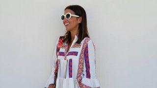 Paula Echevarría da la bienvenida al verano con unas alpargatas de crochet de Stradivarius