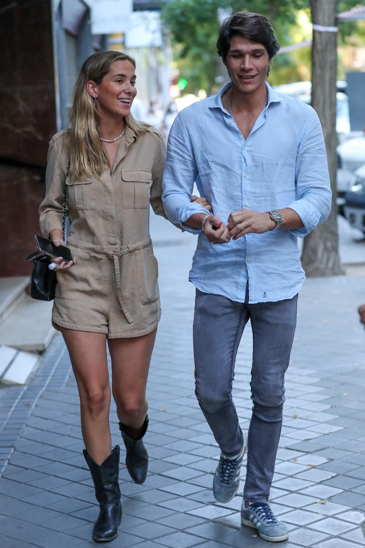 María Pombo y Pablo Castellano están viviendo un momento agridulce ya que aunque están felices por el embarazo, también les preocupa el diagnóstico médico de la joven / GTRES