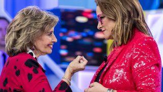 Toñi Moreno y María Teresa Campos en 'Aquellos Maravillosos Años' / Gtres