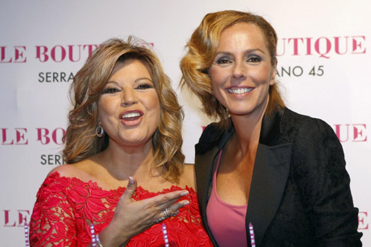 Terelu Campos y Rocío Carrasco son íntimas amigas, tanto que en más de una ocasión han dejado claro que se sienten como hermanas / GTRES