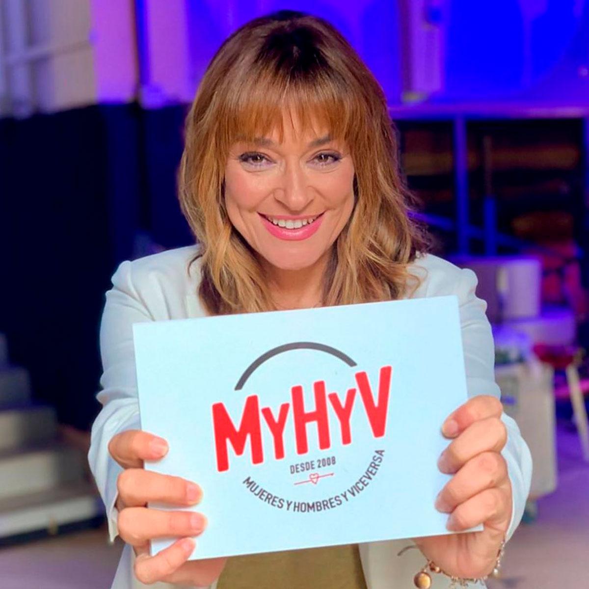 Toñi Moreno dejará de ser presentadora de Mediaset a partir de septiembre, cuando vuelva Emma García y Jesús Vázquez empiece a trabajar en 'Mujeres y hombres y viceversa' / Mediaset
