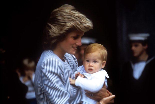 Diana de Gales, Harry
