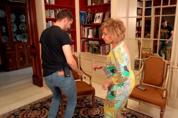 David Broncano y María Teresa Campos