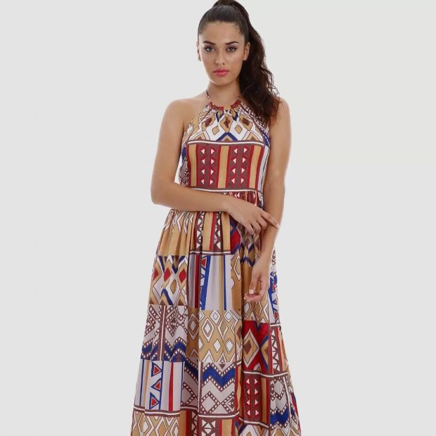 Este es el vestido largo que más gusta a las seguidoras de Paula Echevarría y vale solo 35 euros