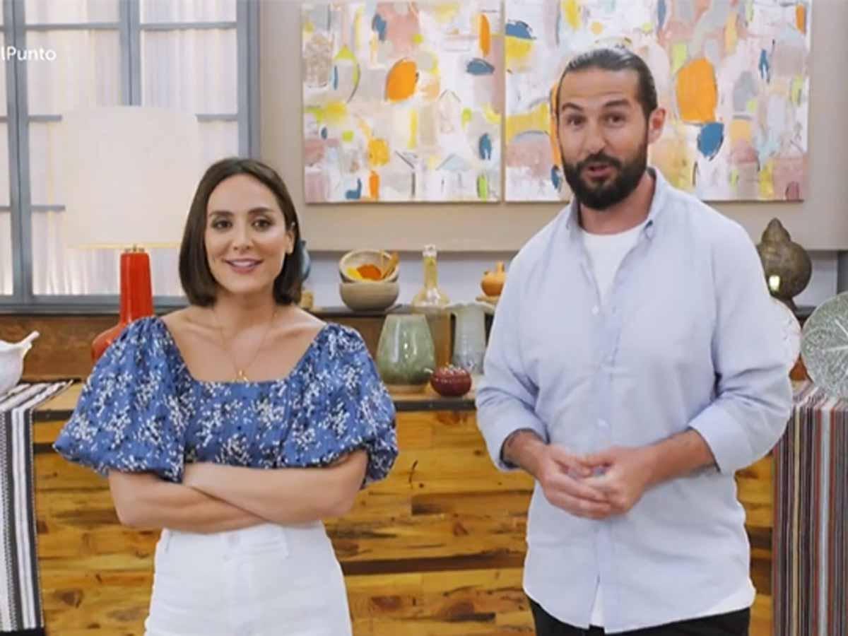Tamara Falcó y Javier Peña en 'Cocina al punto' / TVE