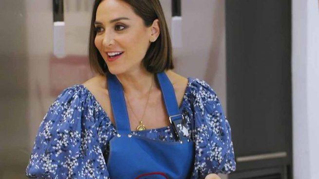 Tamara Falcó en su debut como copresentadora/ TVE