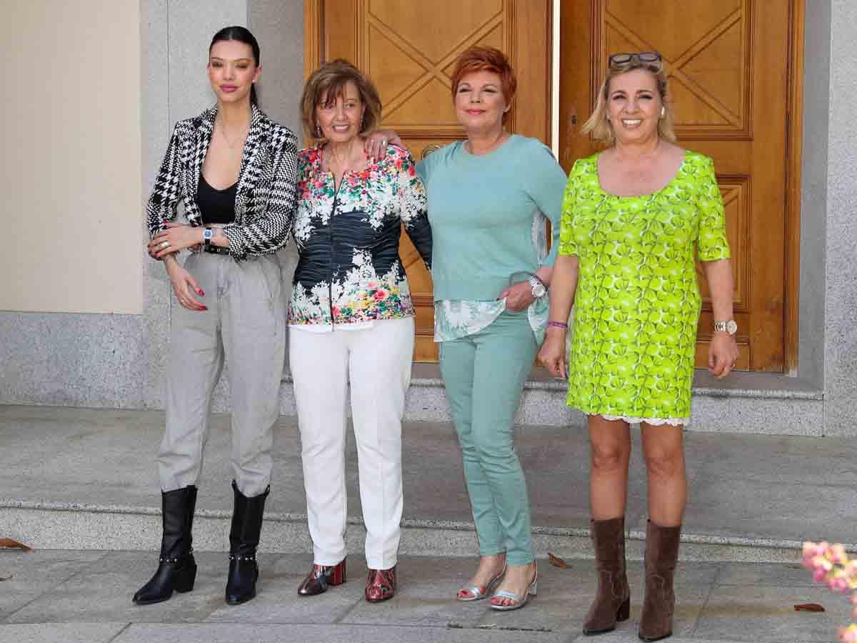 Las Campos durante el último cumpleaños de María Teresa / GTRES