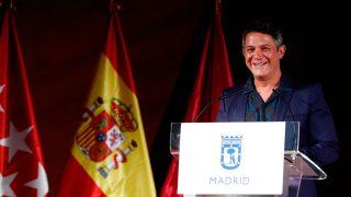 Alejandro Sanz ha recibido un homenaje este jueves en Madrid / Gtres