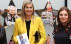 El traje amarillo de Zara de Máxima de Holanda con el que nunca verás a Letizia