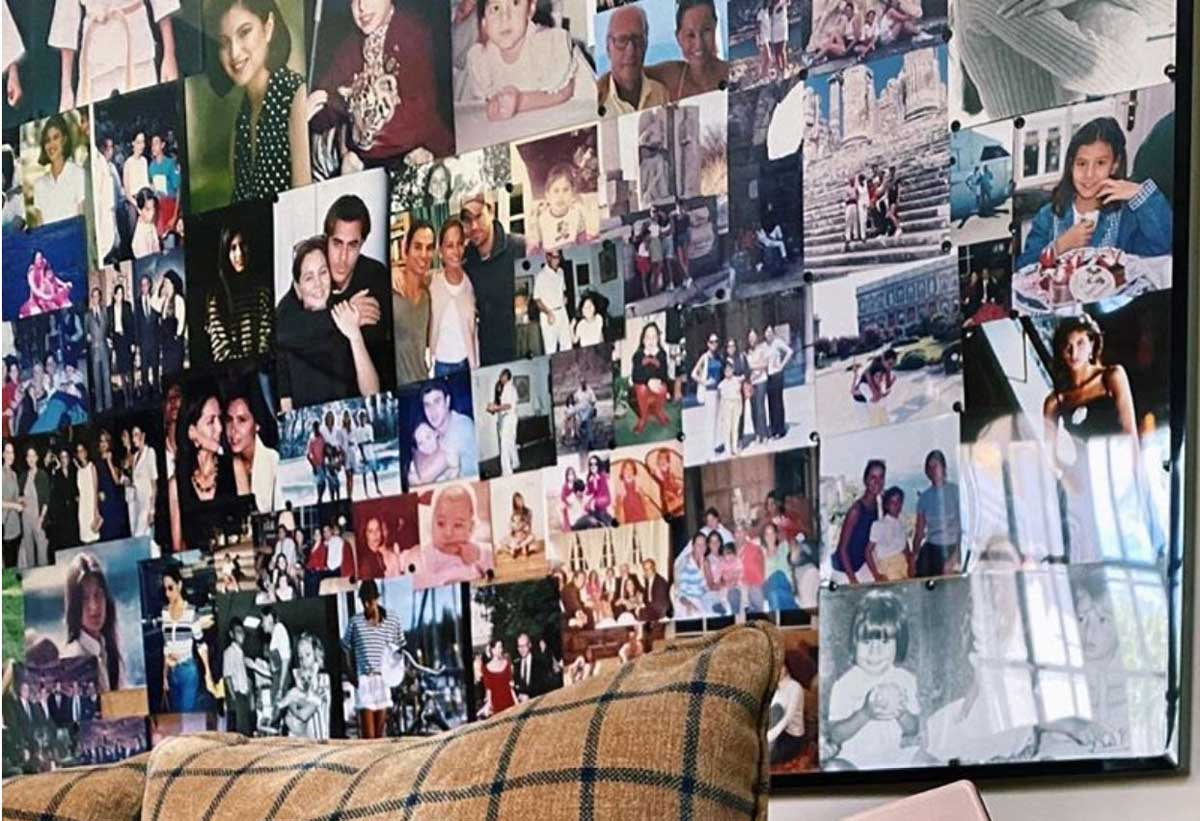 Parte del 'collage' de fotos hecho por Isabel Preysler y mostrado por su hija, Tamara Falcó / Instagram