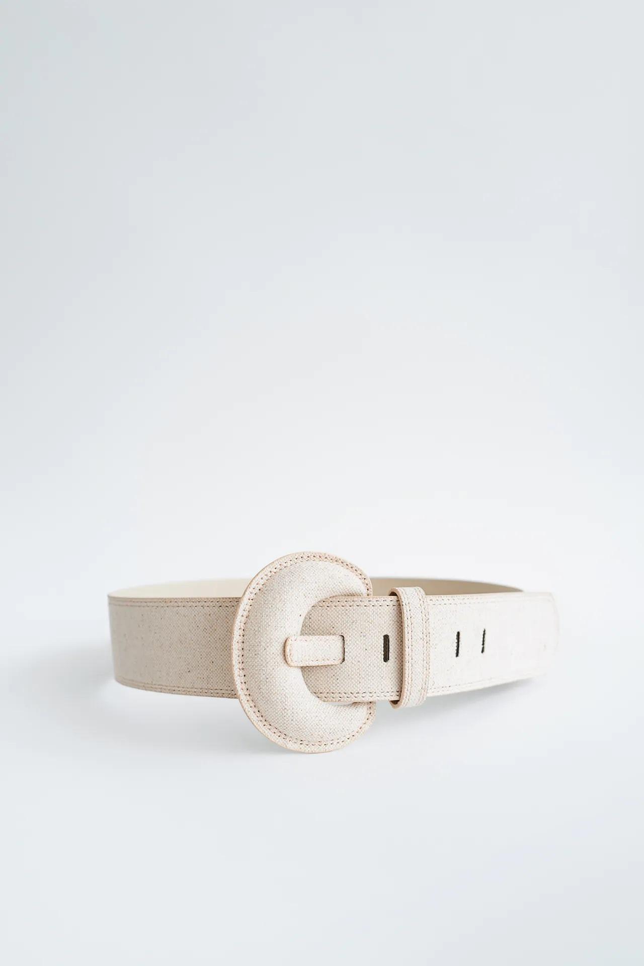Estiliza tu figura al momento con estos cinturones de Zara