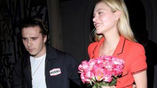 Brooklyn Beckham y Nicola en una imagen de archivo / Gtres