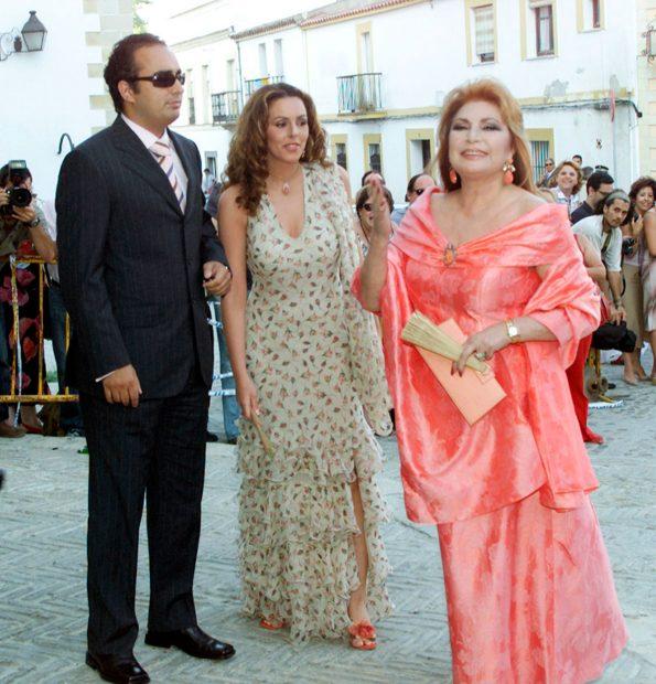 Rocío Carrasco, Fidel Albiac y Rocío Jurado