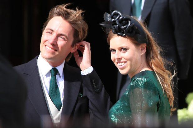 Beatriz de York y Edoardo Mapelli