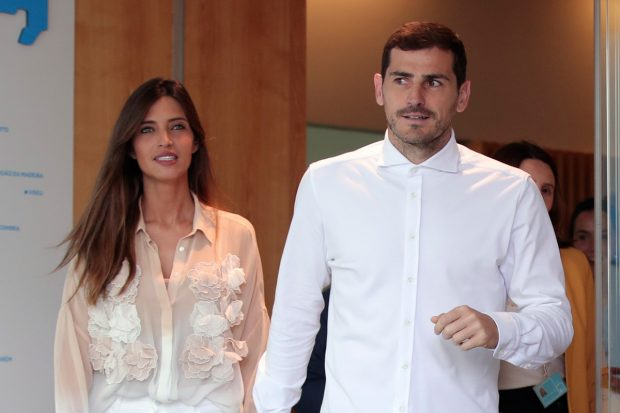 Iker Casillas y Sara Carbonero