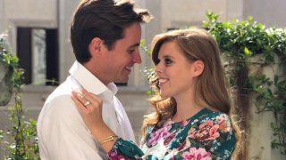 Beatriz de York y Edoardo Mapelli se comprometieron el pasado mes de septiembre / Gtres