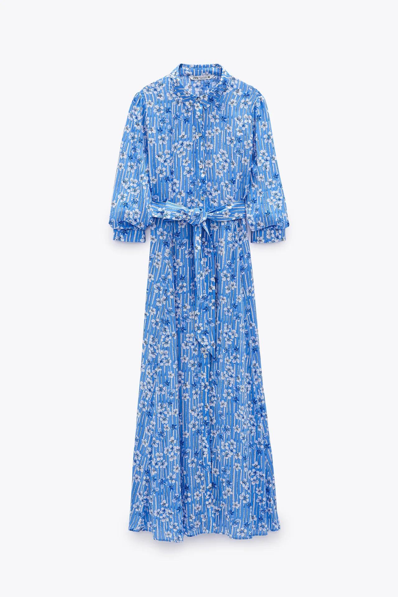 Letizia debe mejorar, estos vestidos midi de flores de Zara están a la altura de una reina por menos de 40 euros