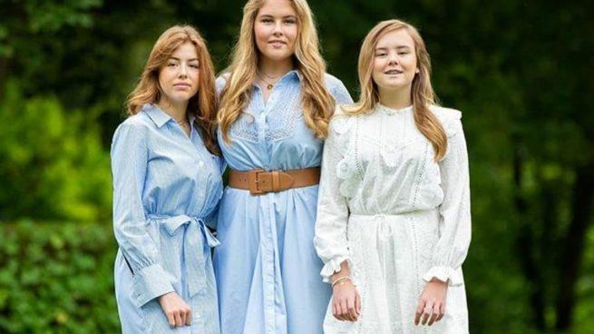 Ariadna, Alexia y Amalia, estos son los looks de las tres princesas holandesas más naturales