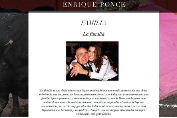 Enrique Ponce, Paloma Cuevas