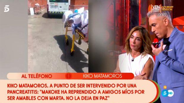 Kiko Hernández, Kiko Matamoros, María Patiño