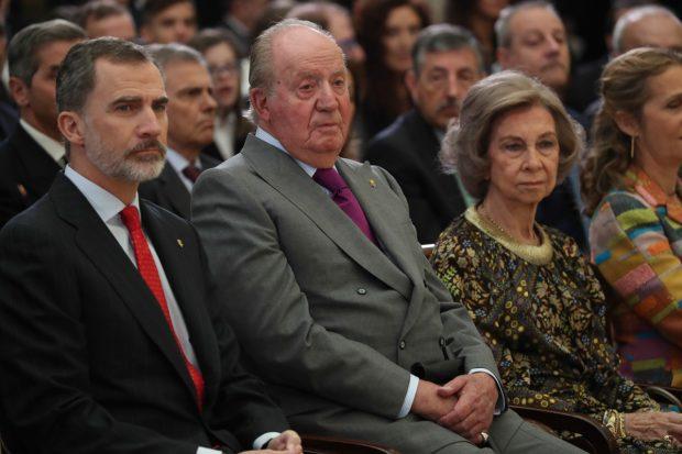 Don Juan Carlos, doña Sofía, Rey Felipe VI