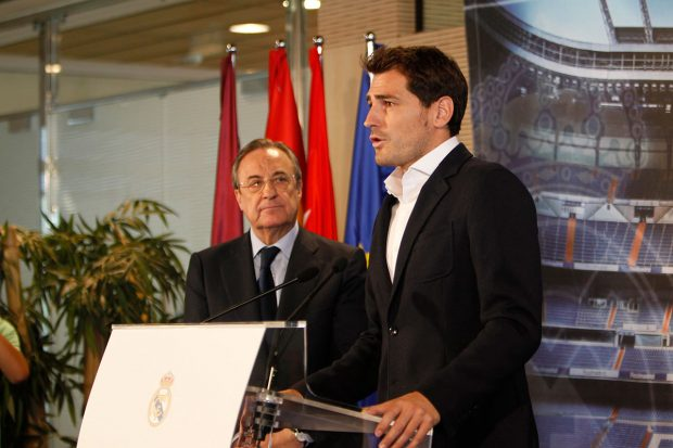 Florentino Pérez siempre ha tenido en estima profesional y personal al eterno capitán/Gtres
